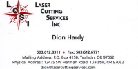 Laser Cutting Services, Inc 1